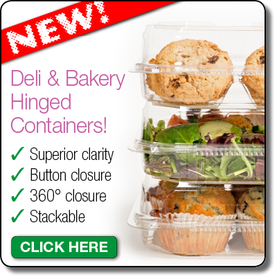 deli & hinged containers banner
