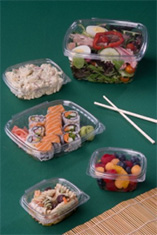 clear hinged deli containers