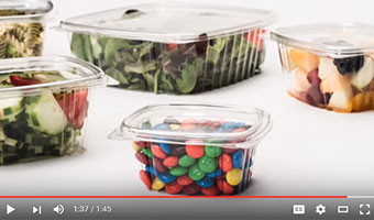 clear containers for food