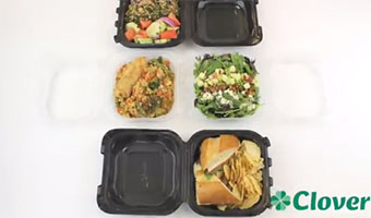 new Clover food containers