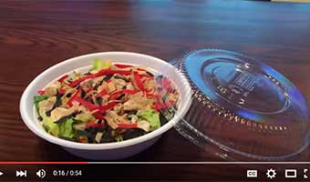 compostable bowls and lids