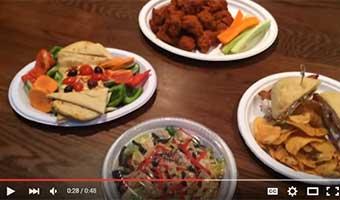 Harvest Fiber eco friendly plates and platters