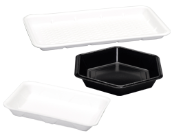 foam food serving trays