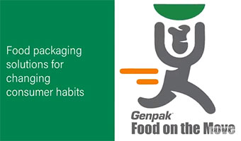 Genpak's containers for food on the move