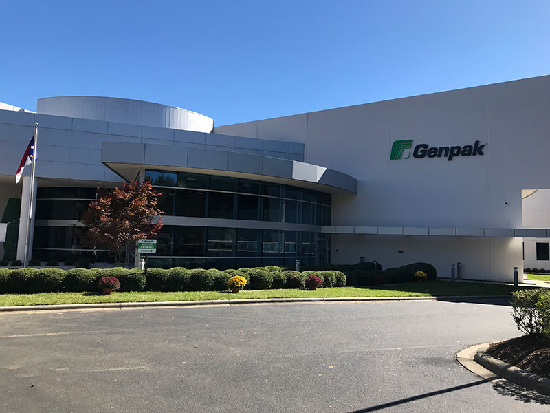 Genpak's corporate headquarters