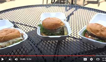 hamburger containers