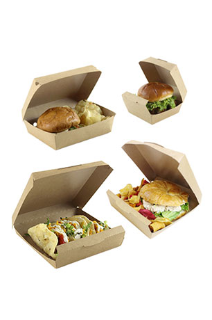 Harvest Choice hinged food containers