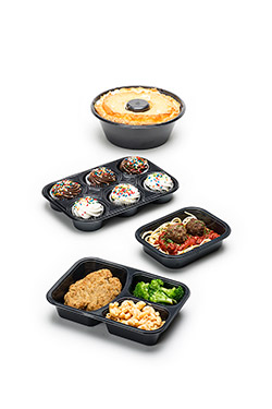 oven ready food containers