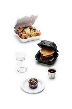 Food Service Packaging, Food Containers & Dinnerware: From Plastic