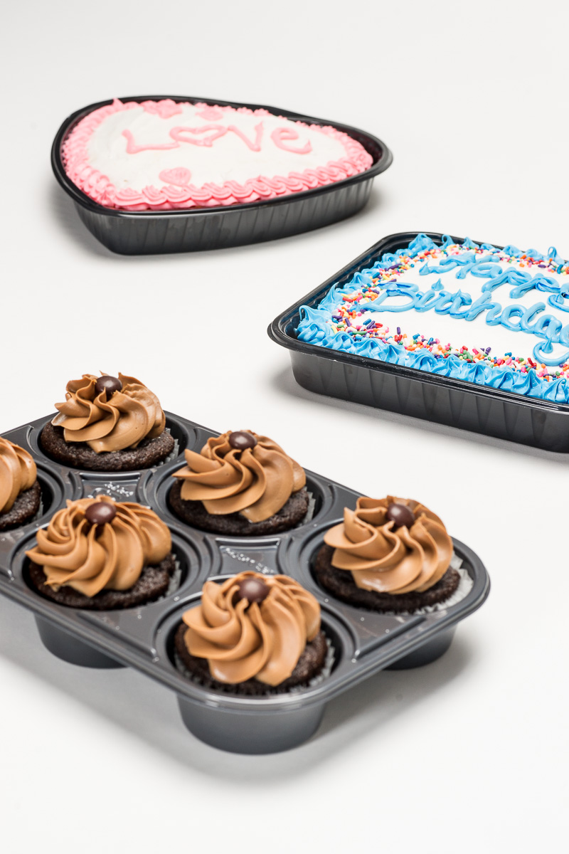plastic bakery trays