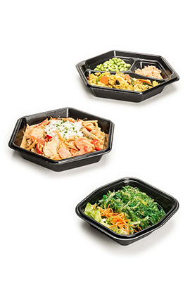 Smart Set foam serving trays