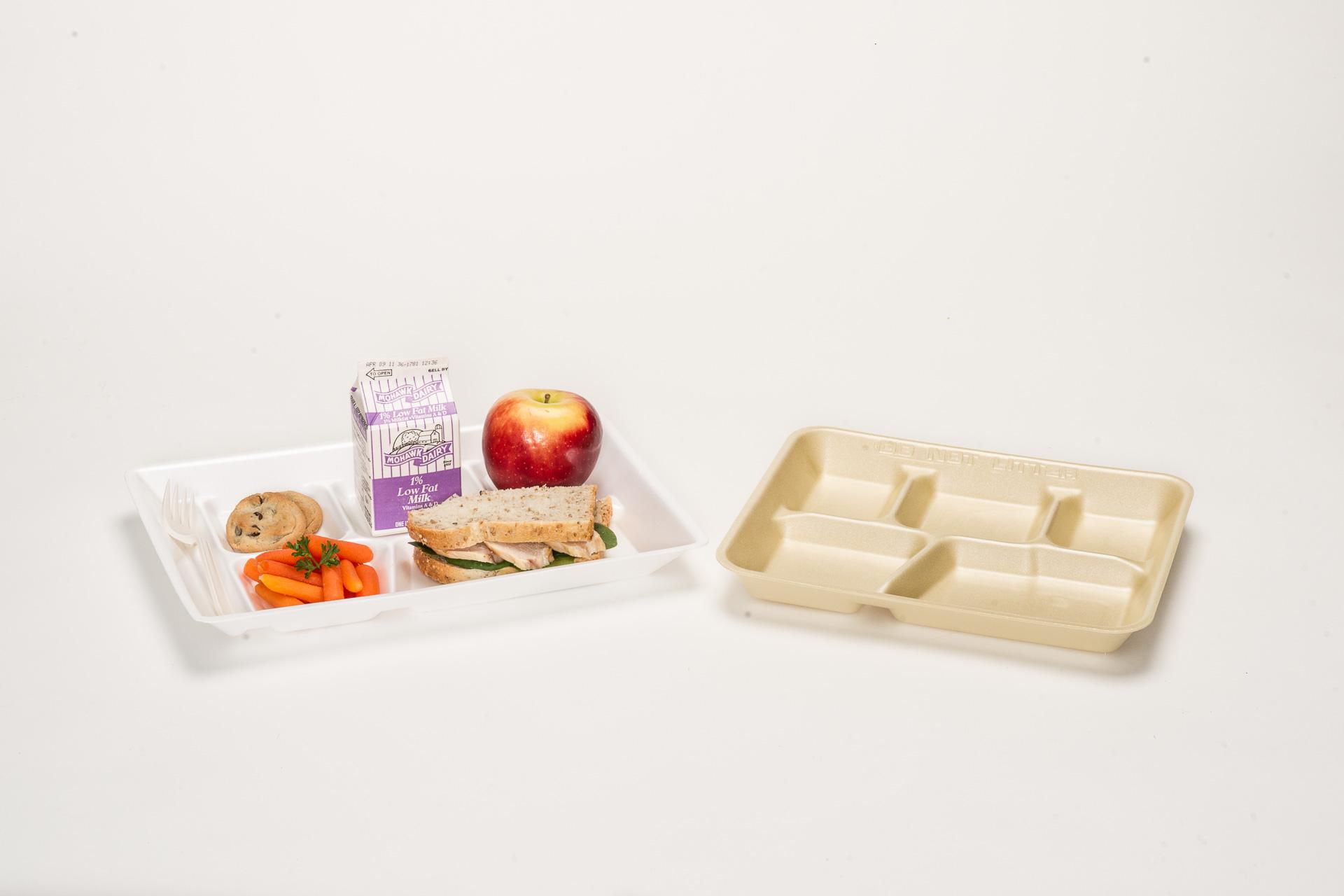 Food Trays: Foam Serving Trays & Supermarket Trays
