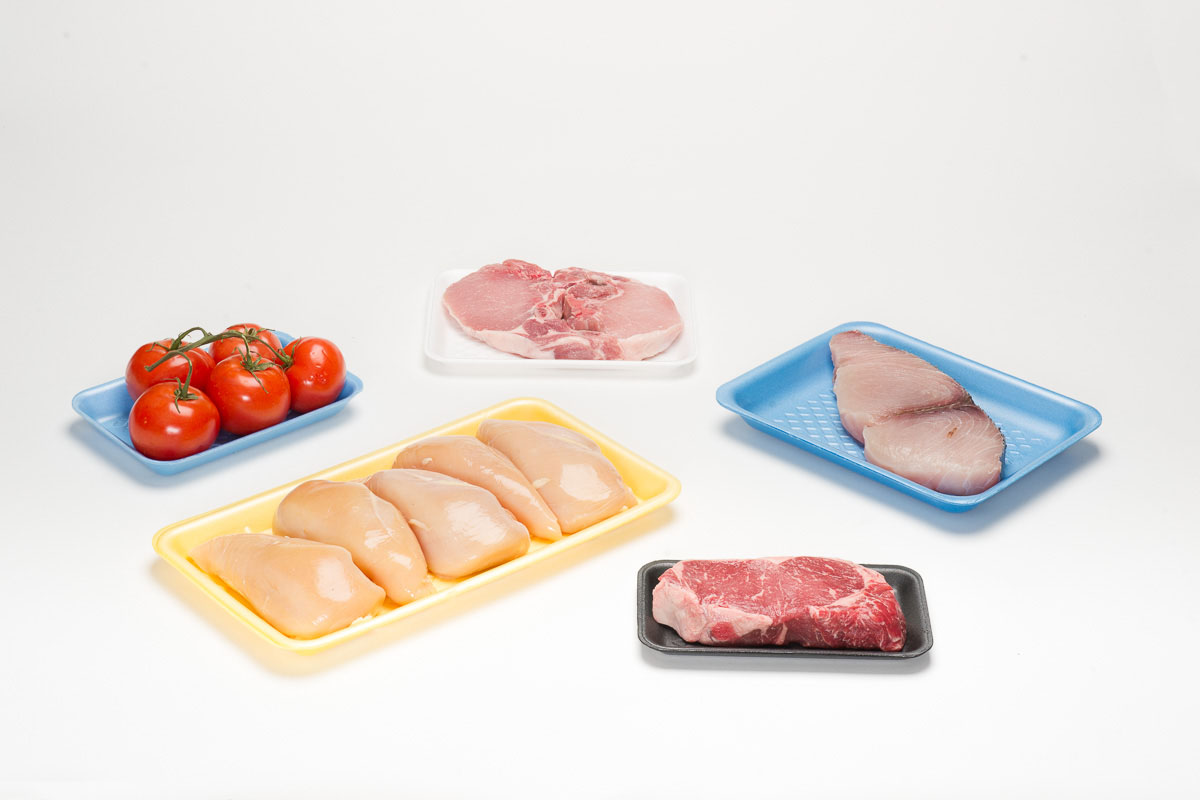 Supermarket food trays available for West Coast