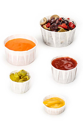 Harvest Compostable Portion Cups