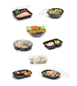 Containers And Packaging For Meal Solutions
