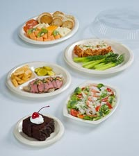 Secure Celebrity foam dinnerware