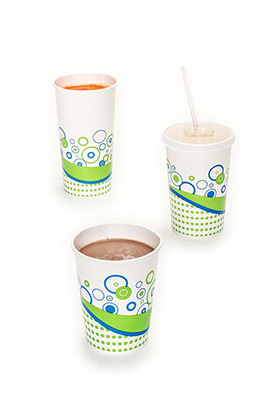 paper cups for cold drinks