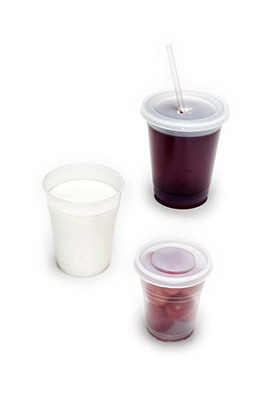 translucent drink cups