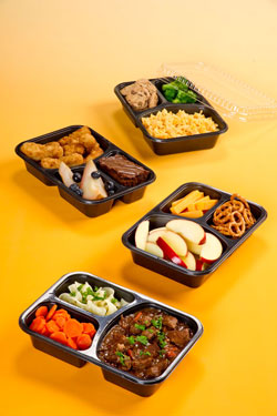 oven ready food trays