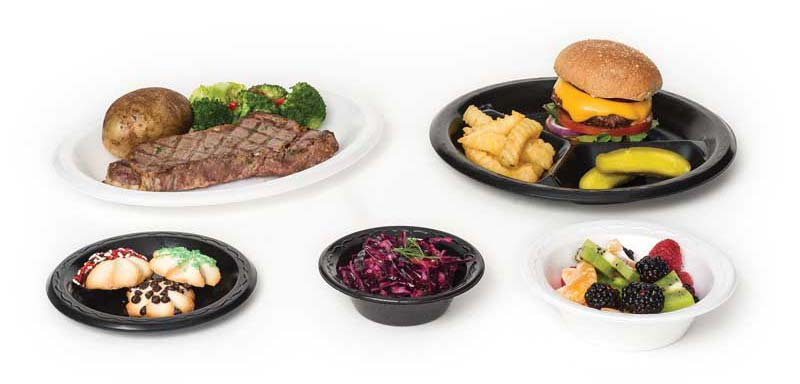 Elite Laminated Foam Dinnerware