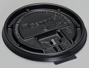 14HL - Flat lid for 10, 12, 16 & 20 oz Hot Drink Cups