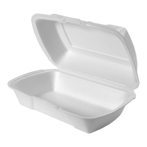 201HT - Medium, Deep Foam Hinged All Purpose Container