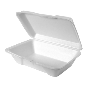 20500 - Large, Deep All Purpose Foam Hinged Container