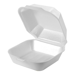 22400 - Medium Sandwich Foam Hinged Container