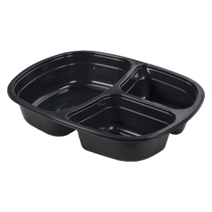 55216 - 2 Compartment Meal Tray, 10 oz & 6 oz compartments