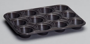 55312 - 12 Count Mini Muffin Tray (1 oz. cups)
