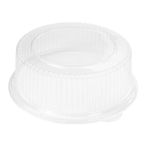 93888 - High dome APET lid for 8.88