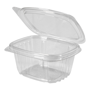 AD06 - 6 oz. Clear Hinged Deli