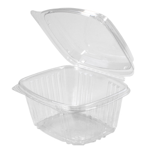 AD16F - 16 oz. Hinged Deli High Dome