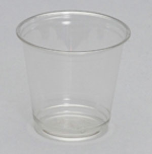 CH09-PE - 9 oz. Clear Squat Cup, 3.39