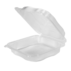 CLX199-CL - Extra Large Hinged Container