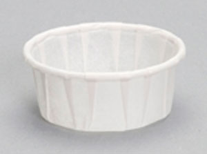 F050S - .5 oz. Squat Paper Portion Cup
