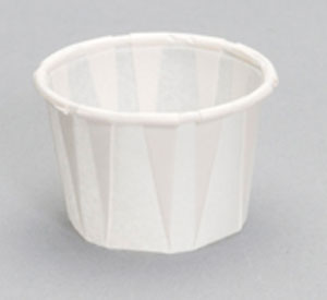 F075 - .75 oz. Paper Portion Cup