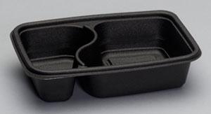 FPR232 - 2 Comp Microwave Safe Container, 18.75 oz & 10.25 oz