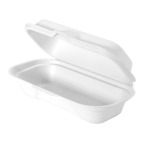 HF211 - Compostable Hot Dog Container