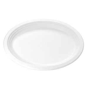 HF811 - Compostable Large Oval Platter