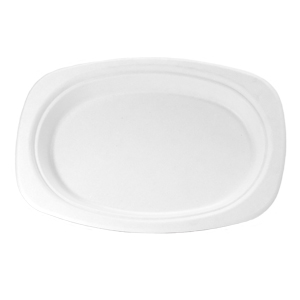 HF880 - Compostable Medium Oval Platter