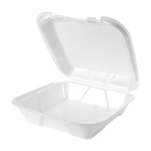 SN200 - Large Snap It Foam Hinged Dinner Container
