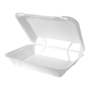 SN270 - Super Jumbo Snap It Foam Hinged Dinner Container