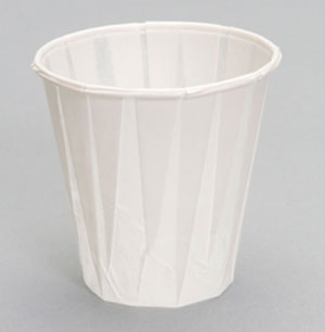 W400F - 4 oz. Paper Drinking Cup. Fits C4160WH dispenser