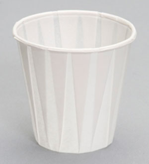 W450F - 3.5 oz. Paper Drinking Cup. Fits C4160WH dispenser