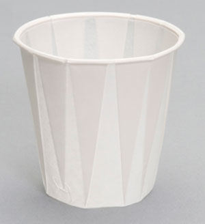 W500F 5 oz. Paper Drinking Cup.  Fits C4160WH dispenser