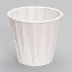 W300F | 3 oz  Paper Drinking Cup | Portion Cups | 3 oz