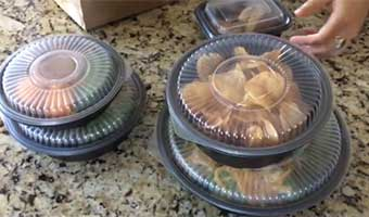 Smart-Set Pro home delivery food containers