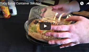 taco salad container