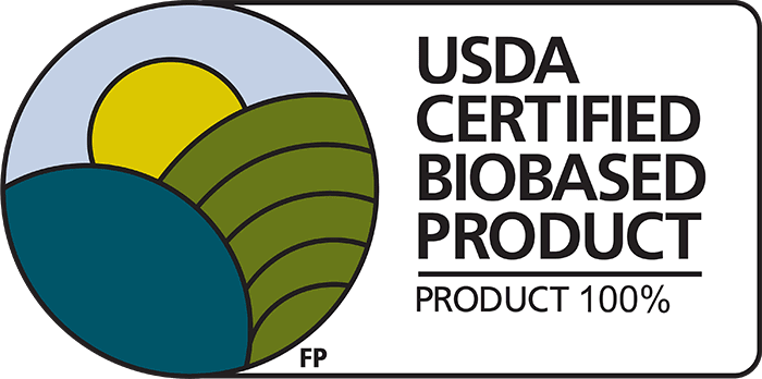 USDA Certified Biobased Product - Product 100%